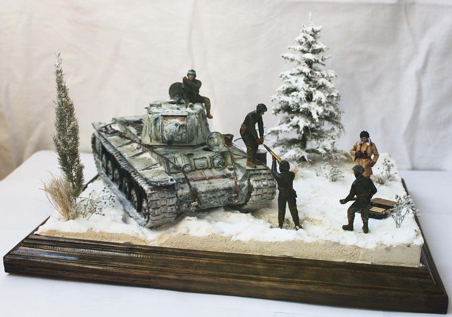 Диорама - Советский танк