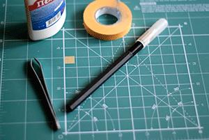 Инструменты и материалы для маскирования
