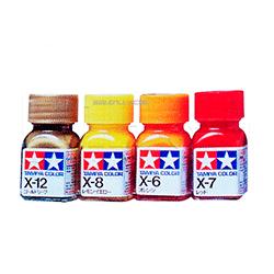 Эмалевые краски Tamiya