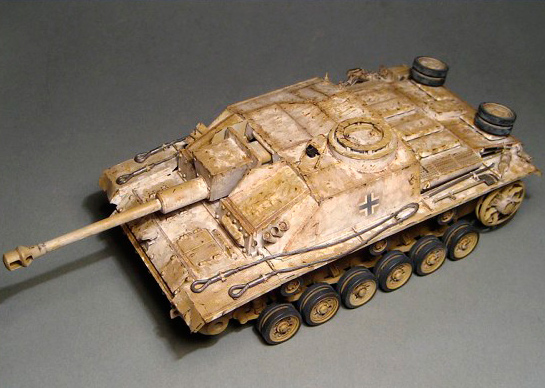 Зимний StuG` - Neutral wash